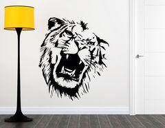 """Wandtattoo """"Lion's Roar"""": Gut gebrüllt, Löwe!"""