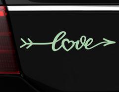 """Autoaufkleber """"Amors Pfeil"""": Mitten ins (verliebte) Herz!"""