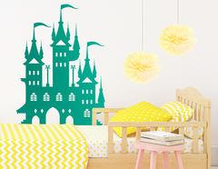 "Wandtattoo ""Verzauberter Palast"" zeigt sich magisch"