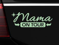 "Autoaufkleber ""Mama on Tour"" für alle Power-Moms"