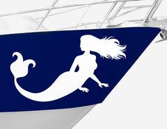 Bootsaufkleber Meerjungfrau Alana-Set