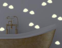 Leuchtsticker-Wandtattoo Shiny Shells