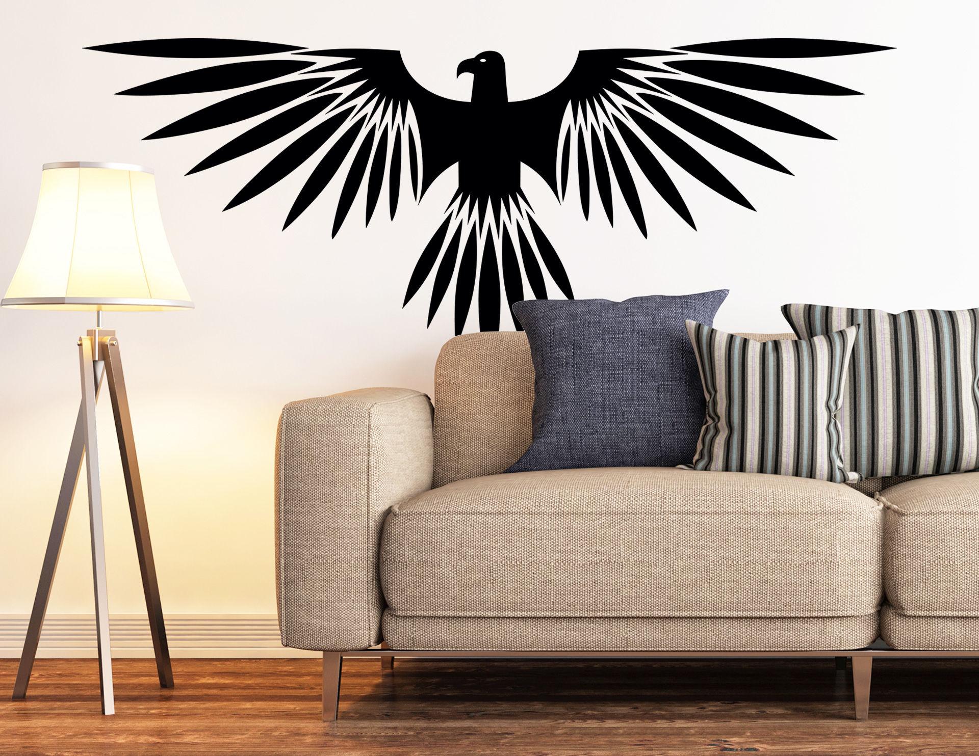 Wandtattoo Native American Eagle #01