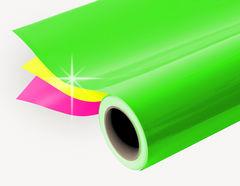 Selbstklebende Farbfolie Neon als Rollenware