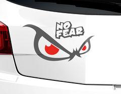 Autoaufkleber No Fear