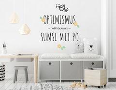 """Wandtattoo """"Sumsi mit Po"""" ist einfach zum Lachen & Liebhaben"""