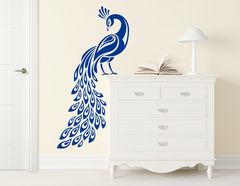 Wandtattoo Lady Peacock für ein magisches Ambiente