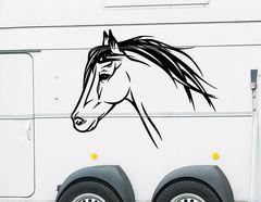"Autoaufkleber ""Pferd Ebony"": Ein kraftvoller Begleiter!"