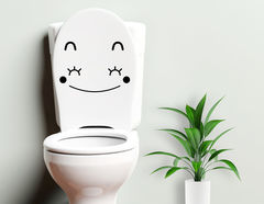 Candice - lustiger WC-Aufkleber für Kinder