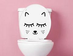 Coco - lustiger WC-Aufkleber für Kinder