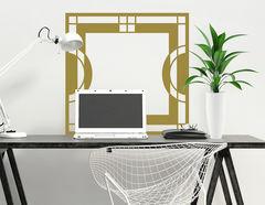 Art Nouveau - Précis, Wandtattoo-Set im Jugendstil-Design