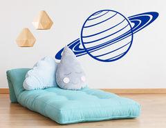 """Wandtattoo """"Planet Saturn"""" für Weltraum-Ambiente Daheim"""