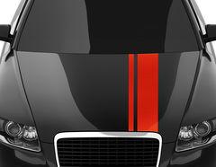 Autoaufkleber Racing Stripes #4