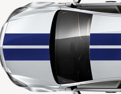 Autoaufkleber Racing Stripes #1