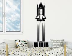 """Mit Wandtattoo """"Raketenstart"""" auf Marsmission"""