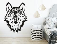 """Wandtattoo """"Rotkäppchens Wolf"""" für Märchenstunden"""