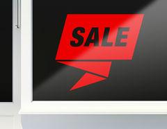 Aufkleber Crazy Sale