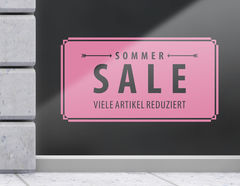 Aufkleber Vintage Sommer Sale