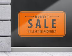Aufkleber Vintage Herbst Sale