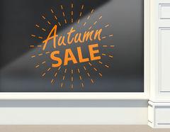 Aufkleber Autumn Sale Light Ball