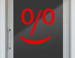 Aufkleber Smiling Face