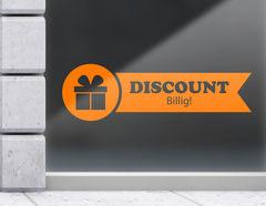 Aufkleber Fahne Discount billig