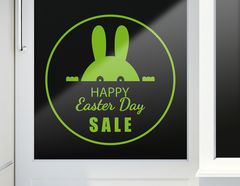 Aufkleber Happy Easter Sale