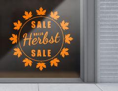 Aufkleber Hallo Herbst Sale