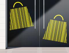 Aufkleber Barcode Bags