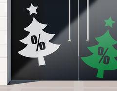 Aufkleber Weihnachts-Sale