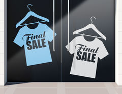 Aufkleber Final Sale Shirt