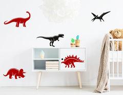 """Wandtattoo """"Welt der Dinosaurier"""" für kleine Urzeitfans"""