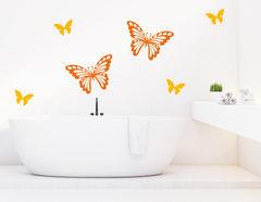"""Wandtattoo """"World of Butterflies"""" für Zusammenhalt"""