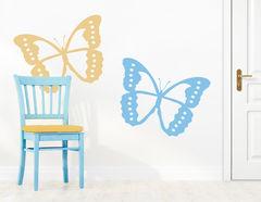 """Wandtattoo """"Schmetterlings-Paar"""" für Verliebte"""