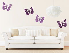 "Wandtattoo ""Butterfly Collection"" für Naturfreunde"