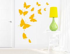 "Wandtattoo ""Journey of the Butterflies"" für Tierfans"
