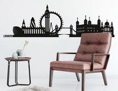 Wandtattoo Skyline London