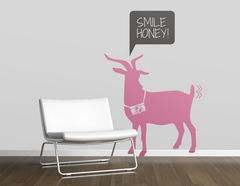 Wandtattoo Smile Honey