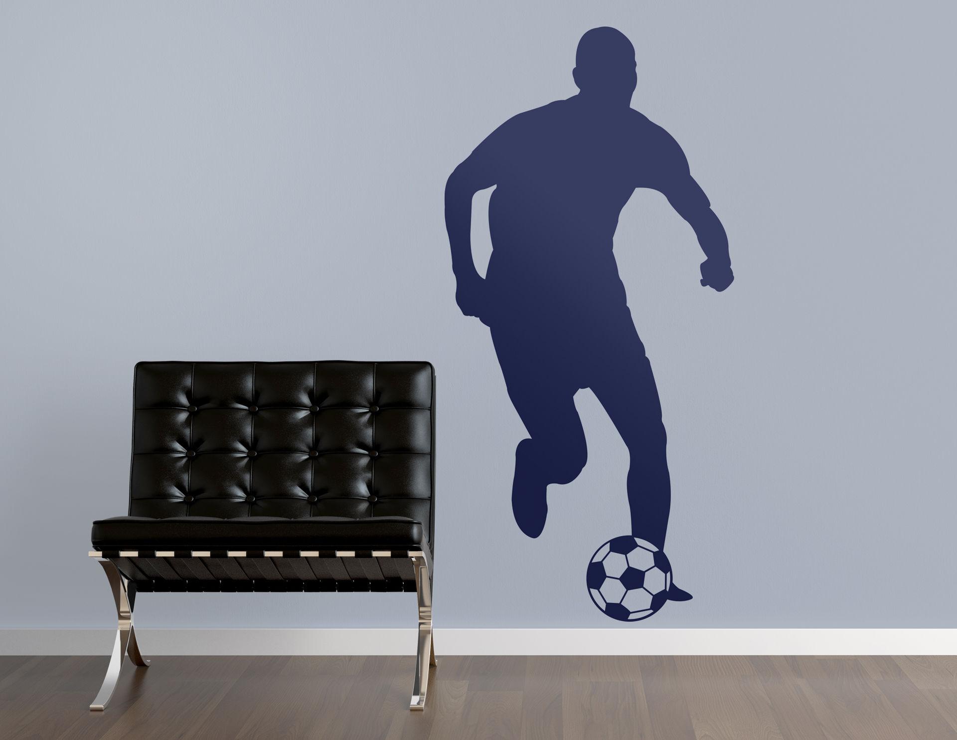 Wandtattoo Soccer Star