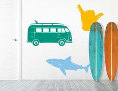 "Wandtattoo ""Surfers Paradise "" für Urlaubsfeeling"