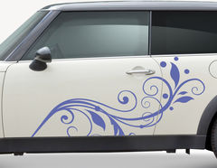 Autoaufkleber Viola-Set