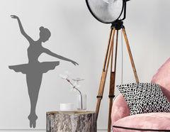Wandtattoo Ballerina #1