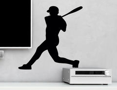 Wandtattoo Baseballspieler #2
