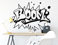"Wandtattoo ""Boom"" ideal für Comic- und Graffitifans"