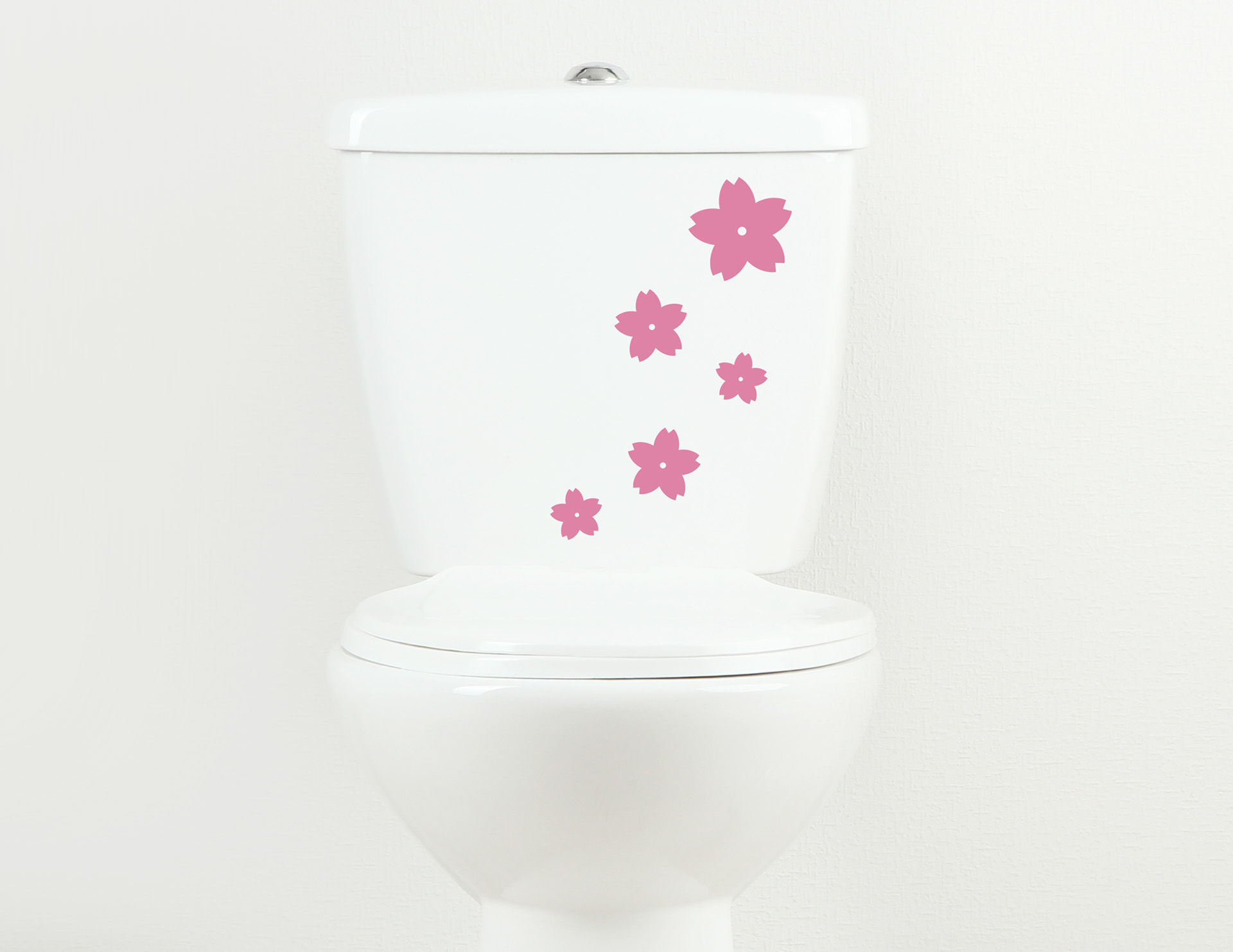 Duftblüten - WC-Aufkleber für Bad und Gästetoilette