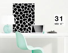 Wandtattoo Giraffe Pattern