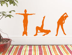 Wandtattoo Gymnastik #3
