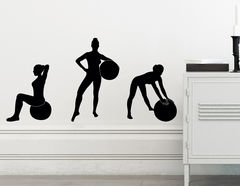 Wandtattoo Gymnastik #6