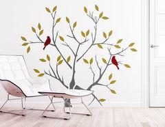 """Wandtattoo """"Herbstbaum"""" für ein natürliches Flair"""