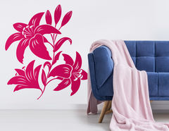 """Wandtattoo """"Lilien Liebe"""" steht für Reinheit und Liebe"""